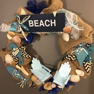 """Other - """"At the Beach"""" wreath"""